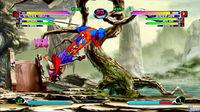 Pantalla Marvel vs Capcom 2 XBLA
