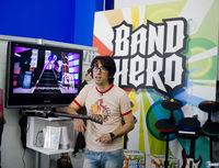 Pantalla Band Hero