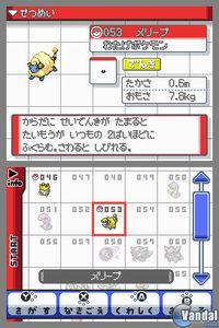 Pantalla Pokémon Oro y Plata