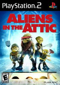 Pantalla Aliens in the Attic