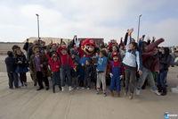 サラゴサで開かれた街スーパーマリオブラザーズ