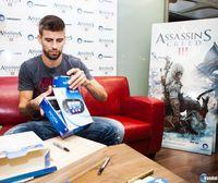 Gerard Piqu tambin se une a la rebelin de Assassin's Creed III