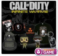 GAME details their editions and exclusive merchandising for Call of Duty: Infinite Warfare