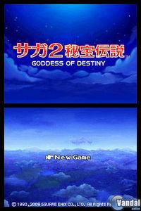 Saga 2: Goddess of Destiny