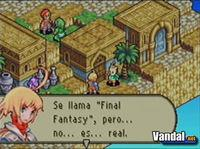 Pantalla Final Fantasy Tactics Advance