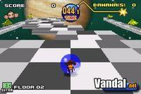 Pantalla Super Monkey Ball Jr.