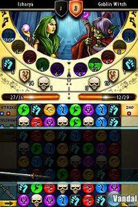 Pantalla Puzzle Quest 2