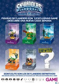 GAME sell Skylanders figures Supercharges Eon's exclusive Elite