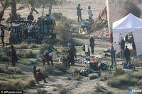 First images of shooting the film with Assassin's Creed Michael Fassbender