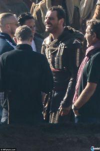 First images of shooting the Assassin's Creed film with Michael Fassbender