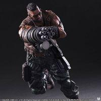Square Enix and their Play Arts Kai presented the figures of Final Fantasy VII Remake