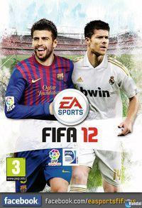 Piqué y Xabi Alonso protagonizan la portada de FIFA 12