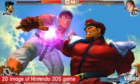 Pantalla Super Street Fighter IV 3D Edition