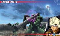 Pantalla Gundam: The 3D Battle