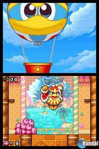Pantalla Kirby Mass Attack
