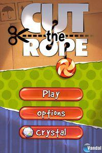 Pantalla Cut the Rope
