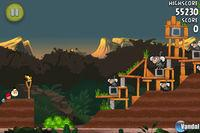 Pantalla Angry Birds RIO