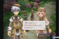 Pantalla Rune Factory: Tides of Destiny