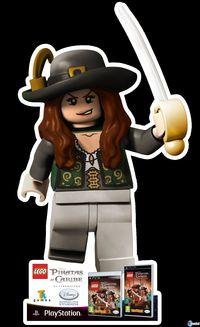 Pantalla Lego Piratas del Caribe