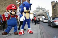 Pantalla Mario & Sonic en los Juegos Olímpicos London 2012