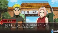 Pantalla Naruto Shippuden Ultimate Ninja Impact