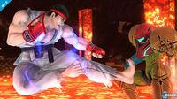 Ryu and Roy are now available, along with Lucas in Super Smash Bros.