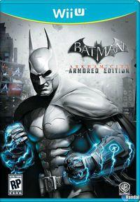 Desvelada la portada de Batman: Arkham City Armored Edition