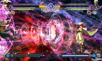 Pantalla BlazBlue: Continuum Shift Extend