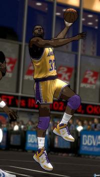 Pantalla NBA 2K12