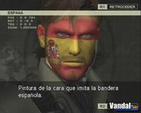 Pantalla Metal Gear Solid 3: Snake Eater