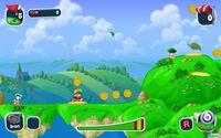 Pantalla Worms Crazy Golf