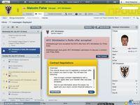 Pantalla Football Manager 2012
