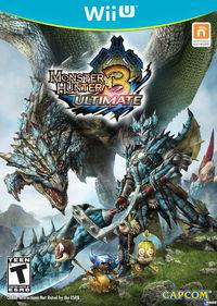 Desvelada la portada americana de Monster Hunter 3 Ultimate