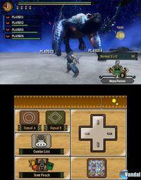 Pantalla Monster Hunter 3 Ultimate