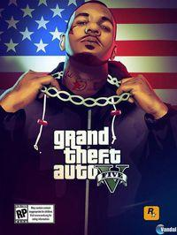 El rapero The Game presenta una ilustraci�n de Grand Theft Auto V