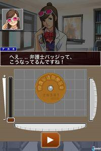 Pantalla Phoenix Wright: Ace Attorney Trilogy HD