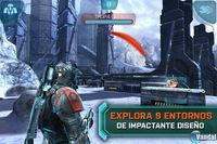Pantalla Mass Effect: Infiltrator