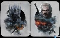 You Displayed artwork to decorate the 'steelbooks' The Witcher 3