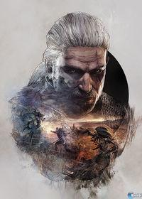 Displayed artwork to decorate the 'steelbooks' The Witcher 3