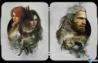 You Displayed artwork to decorate the 'steelbooks' of The Witcher 3