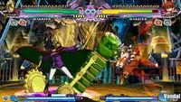 BlazBlue: Continuum Shift Extend se muestra en PSP
