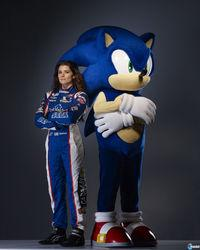 Danica Patrick ser� un personaje jugable en Sonic & All-Stars Racing Transformed
