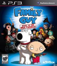 Portada y nuevas im�genes de Family Guy: Back to the Multiverse