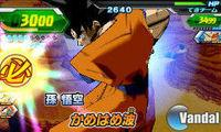 Pantalla Dragon Ball Heroes Ultimate Mission