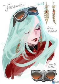 New artwork of Bayonetta 2