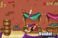 Pantalla Disney's Aladdin