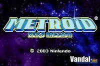 Pantalla Metroid: Zero Mission
