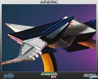 First 4 Figures presents its recreation of Arwing Star Fox