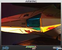 First 4 Figures presented his recreation of the Arwing in Star Fox