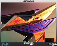 First 4 Figures presents its recreation Arwing in Star Fox